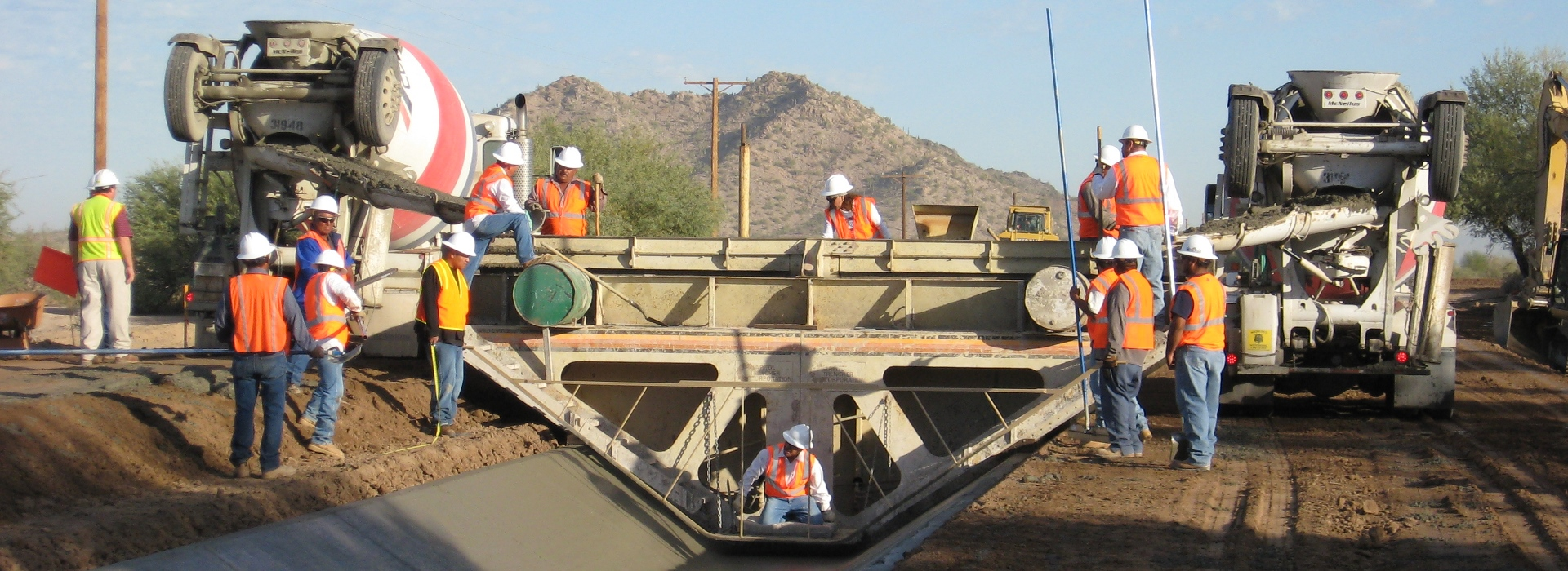 Concrete Canal Lining